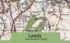Leeds and Environs Ordnance Survey Map 1920