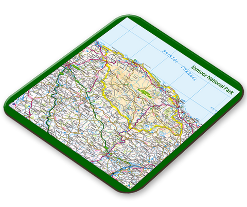 Exmoor National Park Placemat