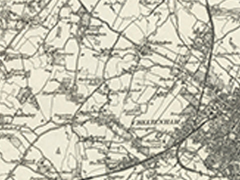 Tewkesbury Worcester OS Map I Love Maps