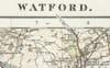 Watford - Ordnance Survey of England and Wales 1920 Series