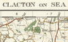 Clacton on Sea & Harwich - Ordnance Survey of England and Wales 1920 Series