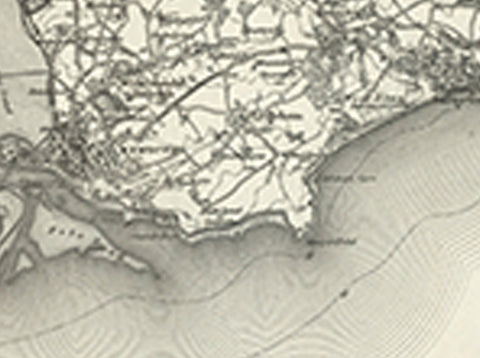 Teignmouth (Exeter) OS Map