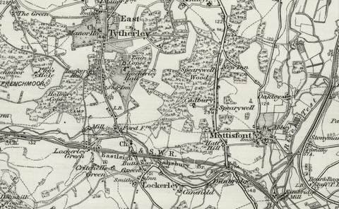 Winchester (Andover) OS Map