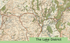 The Lake District Map 1918