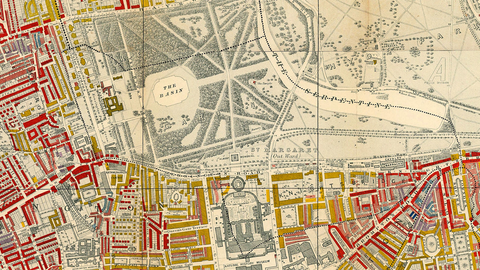 Charles Booth's Poverty Map of London