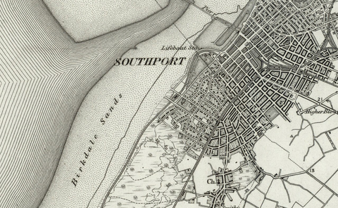 Southport (Fleetwood) OS Map