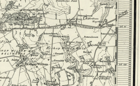 York (Pickering) OS Map