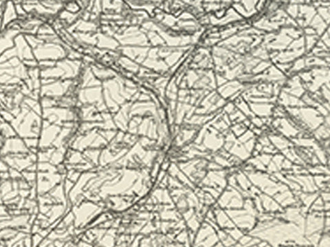 Newcastle Emlyn (Llangranog) OS Map
