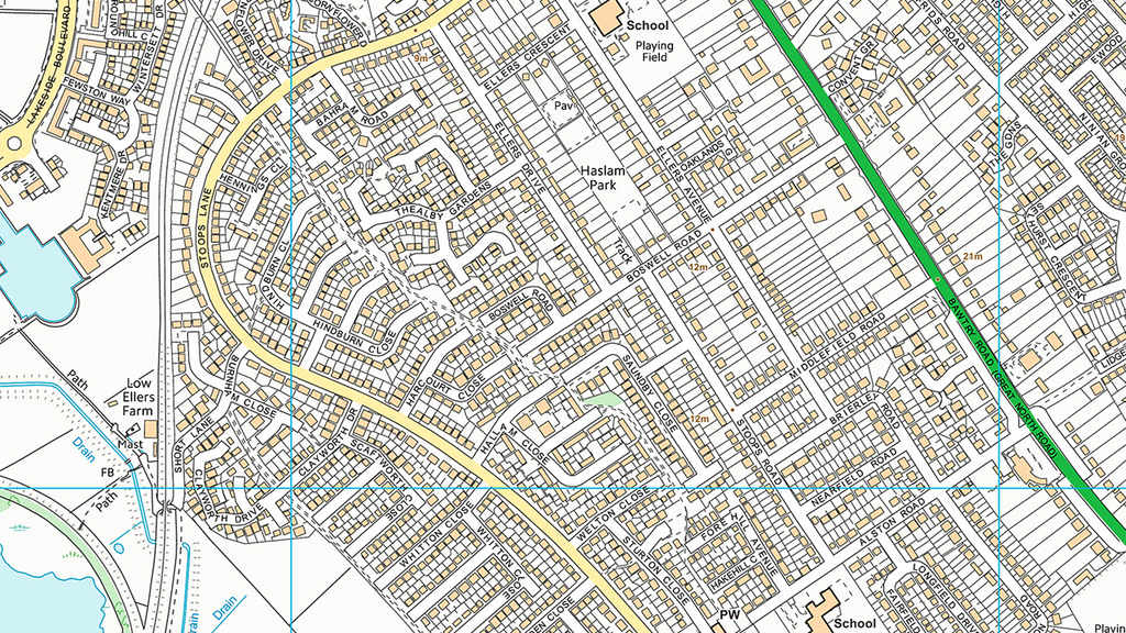 Doncaster Street Map   I Love Maps