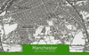 Manchester and Environs Ordnance Survey Map 1870