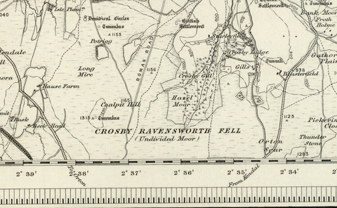Appleby (Penrith) 1890 OS Map