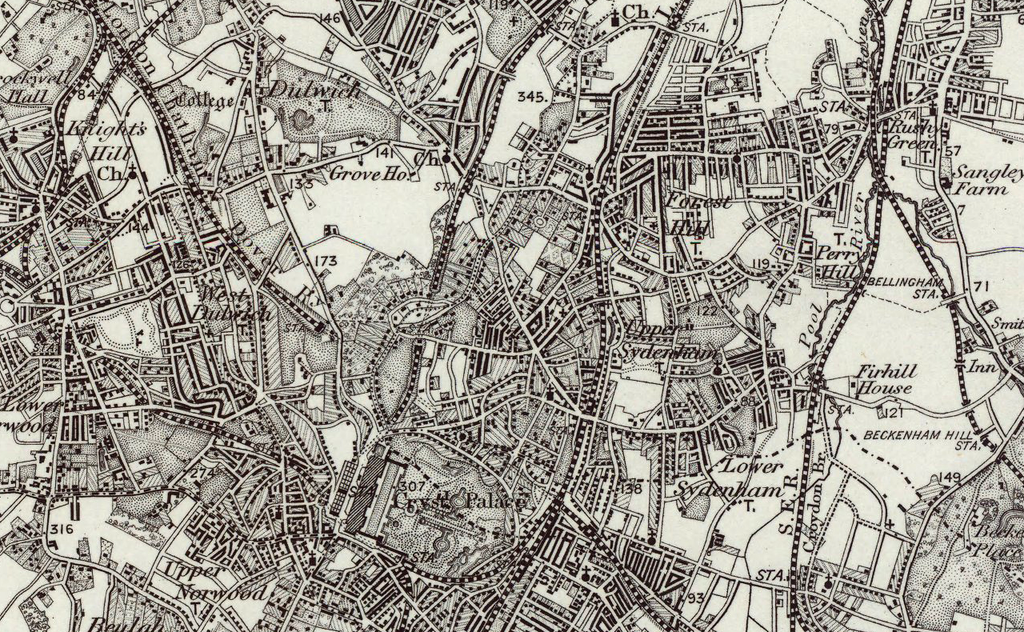 Map Of North London.South London North London Os Map I Love Maps