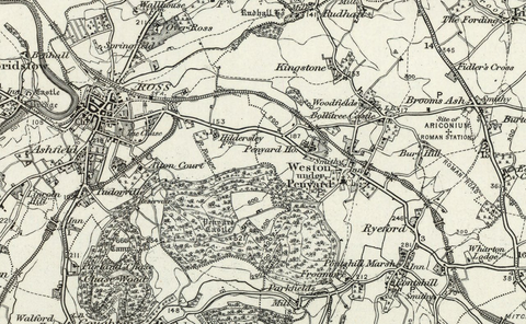 Ross (Hereford) OS Map