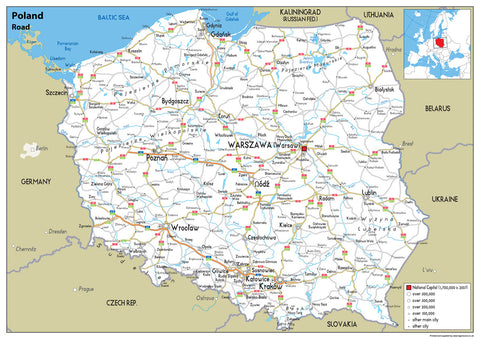 Poland Road Map