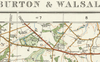 Burton & Walsall - Ordnance Survey of England and Wales 1920 Series