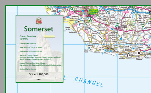 Somerset County Map