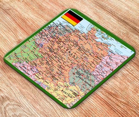 Germany Map Placemat