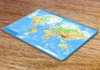 World Physical Map Placemat