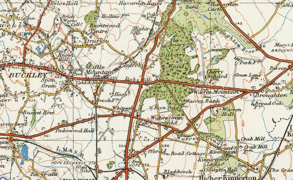Chester Ordnance Survey Of England And Wales 1920 Series I Love Maps