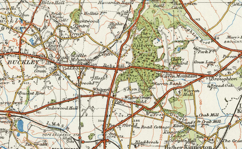 Chester - Ordnance Survey of England and Wales 1920 Series