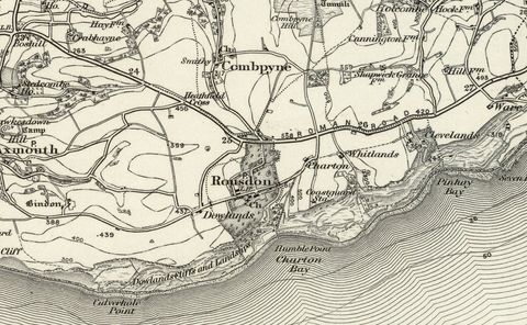 Sidmouth (Wellington) OS Map