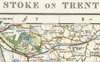 Stoke on Trent - Ordnance Survey of England and Wales 1920 Series