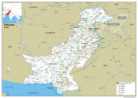 Pakistan Road Map