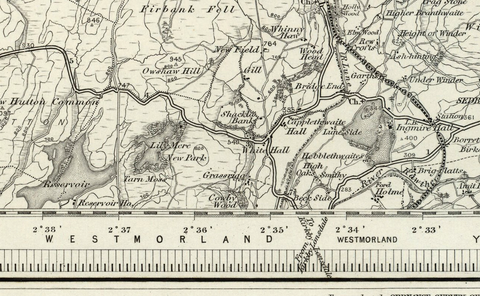 Kendal (Appleby) OS Map