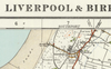 Liverpool & Birkenhead - Ordnance Survey of England and Wales 1920 Series