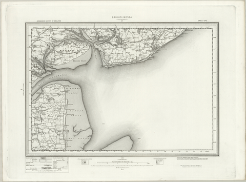 Brightlingsea (Colchester) OS Map