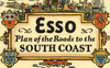 Pratts 1930 Esso Map of the South Coast
