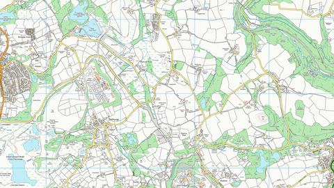 St Austell Street Coastal Area Map