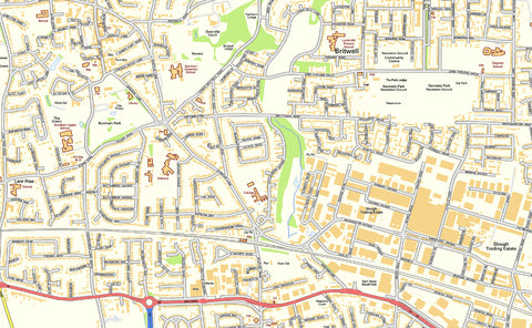 Slough Street Map