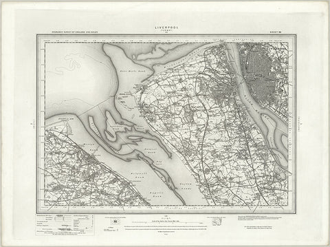 Liverpool (Formby) OS Map