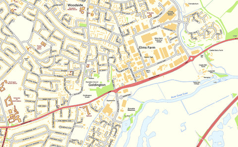 Bedford Street Map