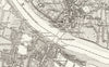 1874 Ordnance Survey (6inch to the mile) map of South West London