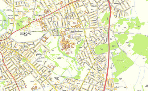 Oxford Street Map
