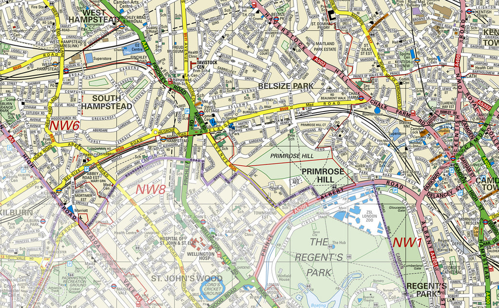 Camden Borough Map Camden London Borough Map | I Love Maps Camden Borough Map