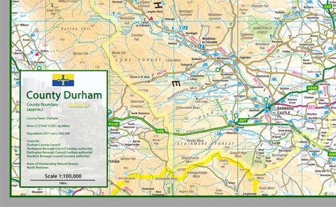 Durham County Map