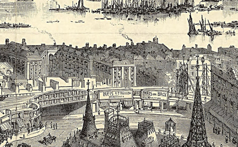 Brewers 19th Century London Map
