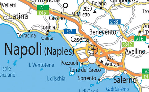 Italy Road Map I Love Maps