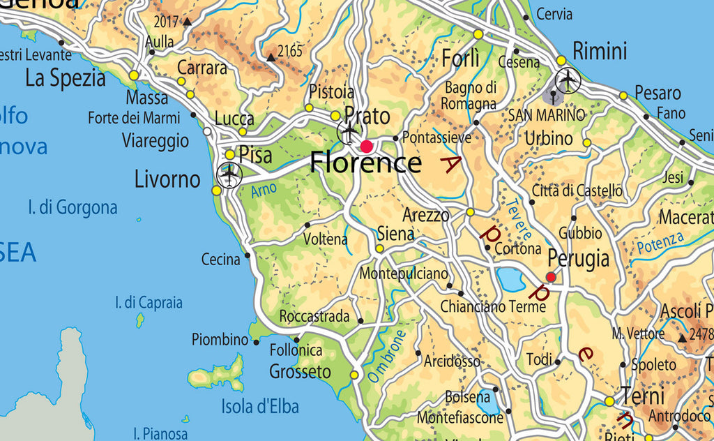 Illustrated Map Of Italy I Love Maps