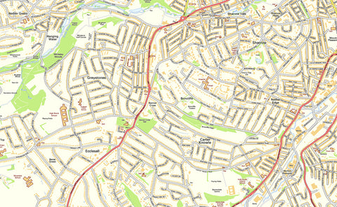 Sheffield Street Map