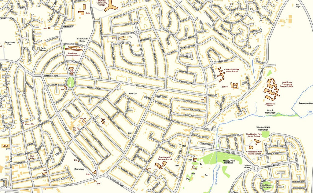 Derby Street Map | I Love Maps