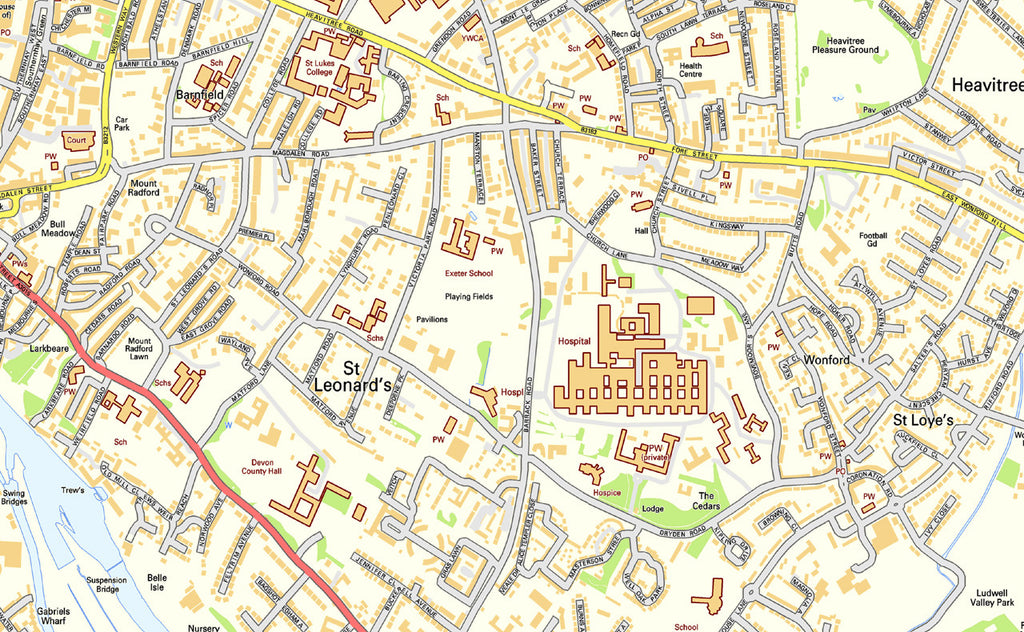 Exeter Street Map Exeter Street Map | I Love Maps Exeter Street Map