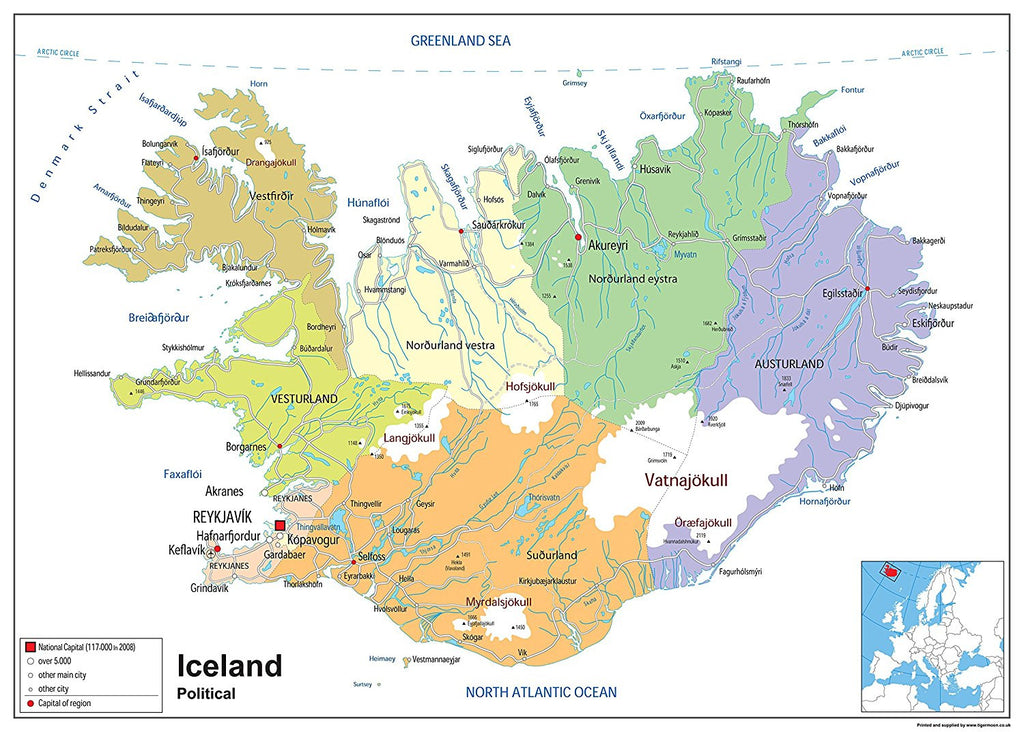 Iceland Political Map | I Maps on england on europe map, south pacific islands world map, iceland on a map of europe, show iceland on world map, iceland map world atlas, island on world map, ascension island map, monster island map, java on world map, reykjavik iceland on world map, latvia on world map, kenya on world map, namibia on world map, easter island map, iceland location on globe, iceland on a canada map, digimon world 1 map,