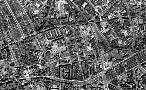 Central London 1946 Map