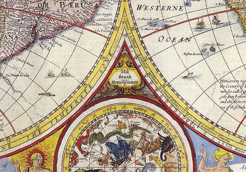 1646 World Map by Jean Boisseau