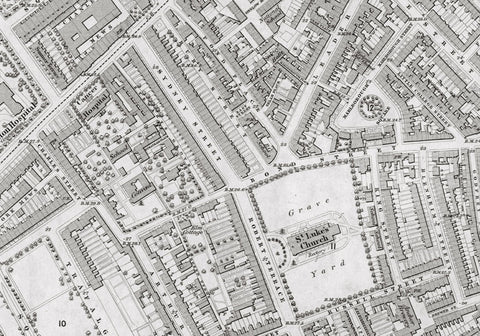 London 1872 Ordnance Survey Map - Sheet LIII - Chelsea
