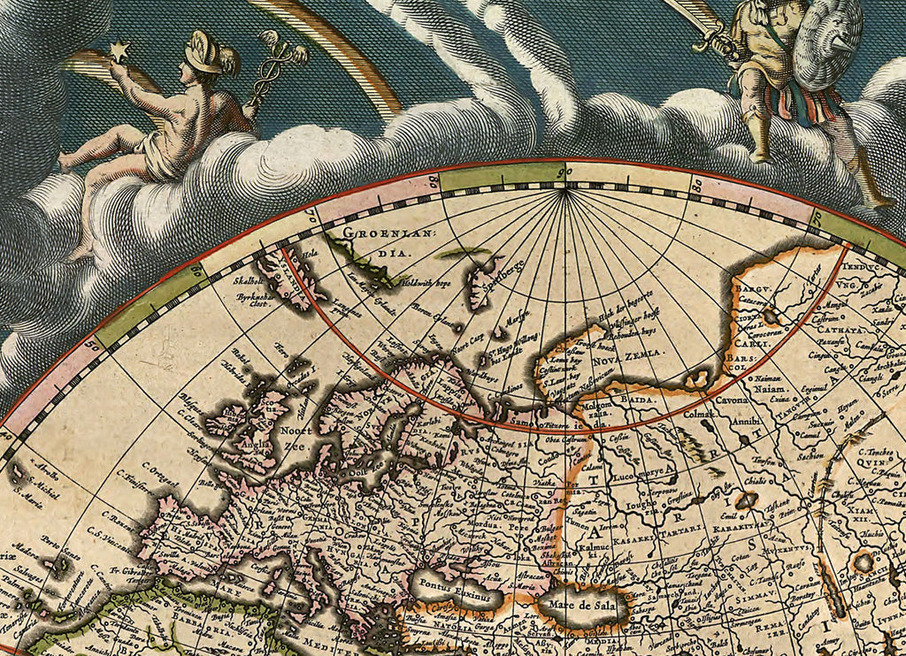 Blaeu World Map.Antique Map Of The World By Joan Blaeu 1684 I Love Maps